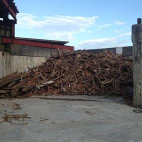 廃木材リサイクル・シュレッダープラント